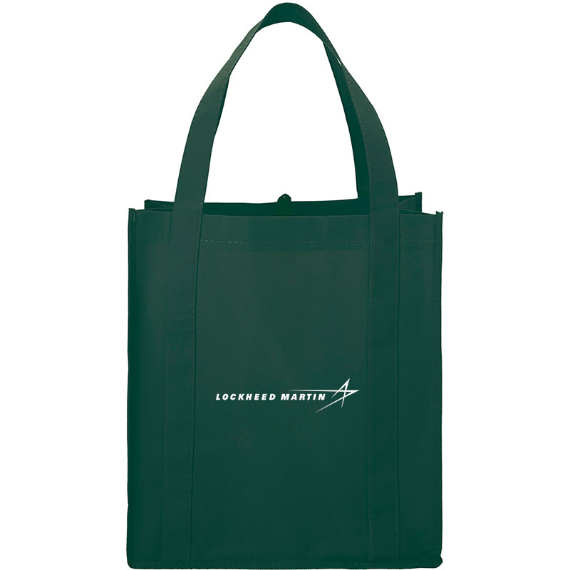 PolyPro Big Grocery Tote - Hunter Green