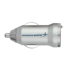 USB Car Charger - Silver