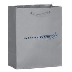 Silver Gift Bag - Medium