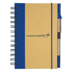 Eco Friendly Notebook - Blue
