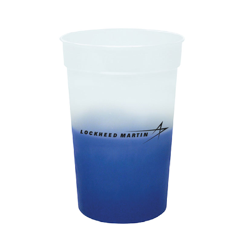 Color Changing Cups - Blue