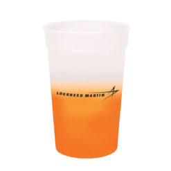 Color Changing Cups - Orange