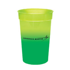 Color Changing Cups - Yellow Green