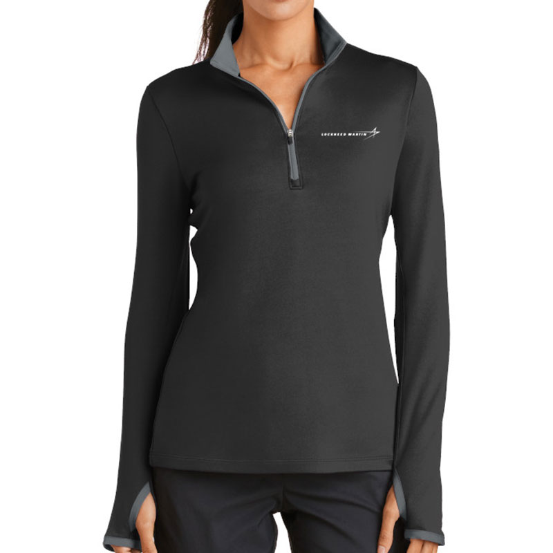 Ladies' Nike Dri-Fit Stretch Pullover - Black