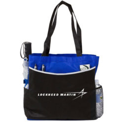 Globe Trotter Convention Tote - Blue
