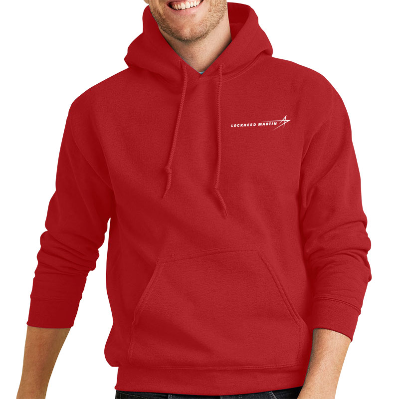 Heavy Blend Pullover Hoodie - Red