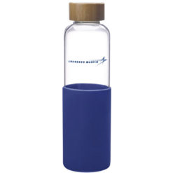 Glass Bottle w/ Silicone Sleeve