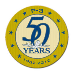 P-3 50 Years Patch