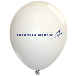 "9"" Latex Balloon - White"