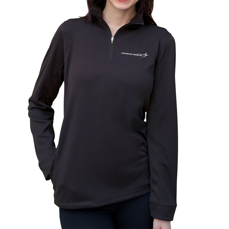 Ladies' Dry Mesh Pullover - Black