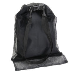 Mariner Waterproof + Mesh Gear Bag - Black Back