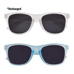 Heat Reactive Sunglasses - Blue / Clear