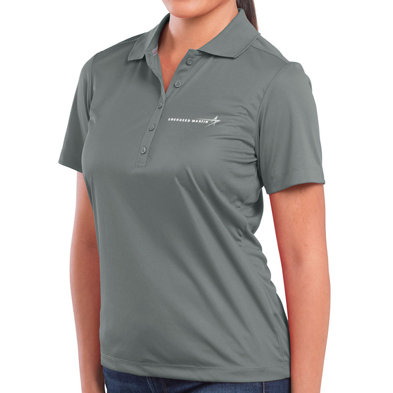 Ladies' Dade Sport Polo - Gray Main