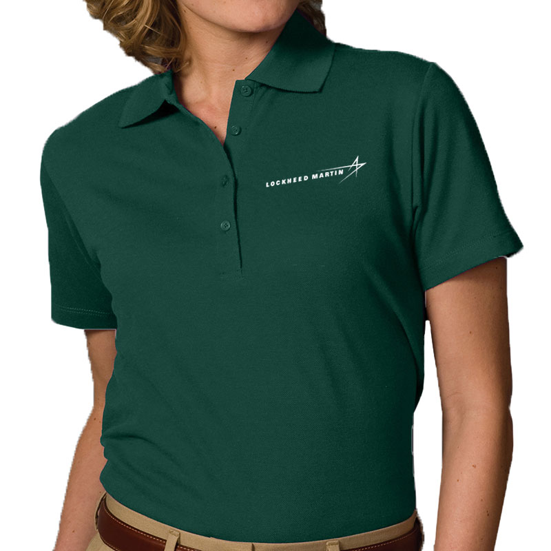 Ladies' Pique Blend Polo - Hunter Green Main