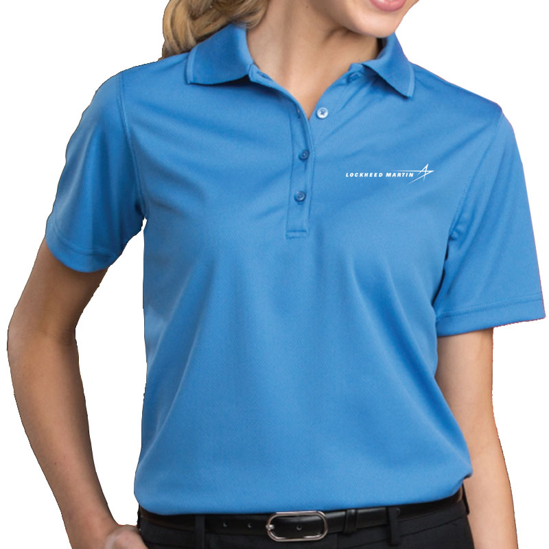Ladies' Dry Mesh Polo - Marina Blue Main