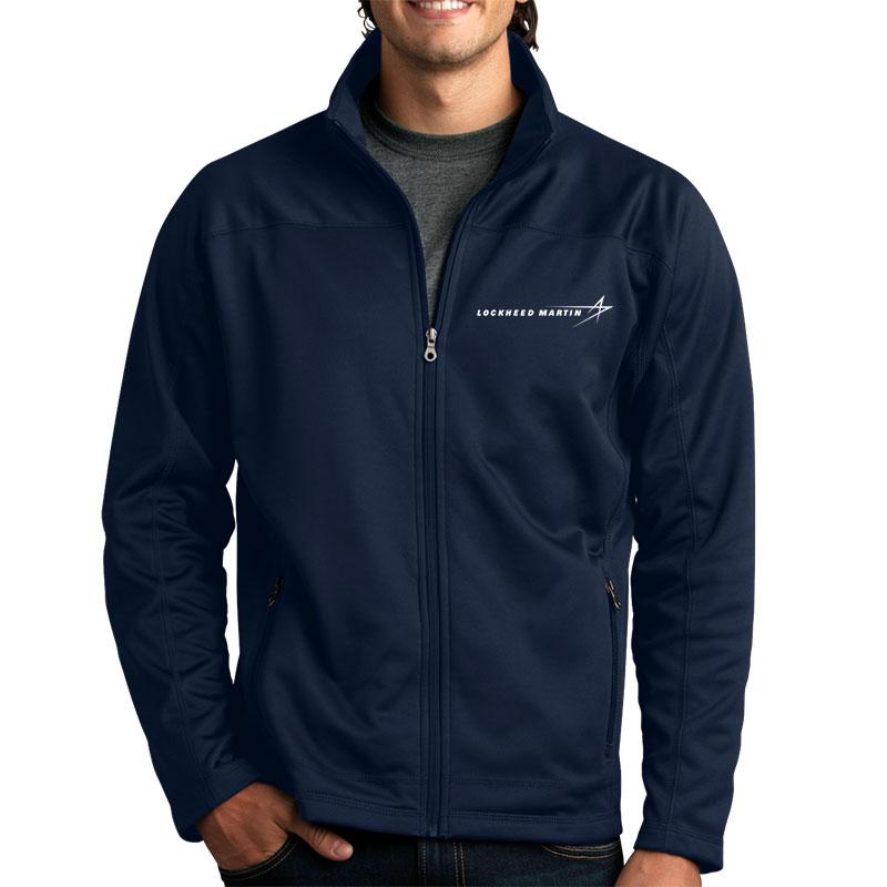 Men's Softshell Fleece Jacket - Navy