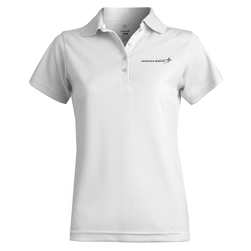 Ladies' Dry Mesh Polo - White