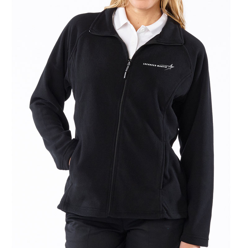 Ladies' Fleece Jacket - Black