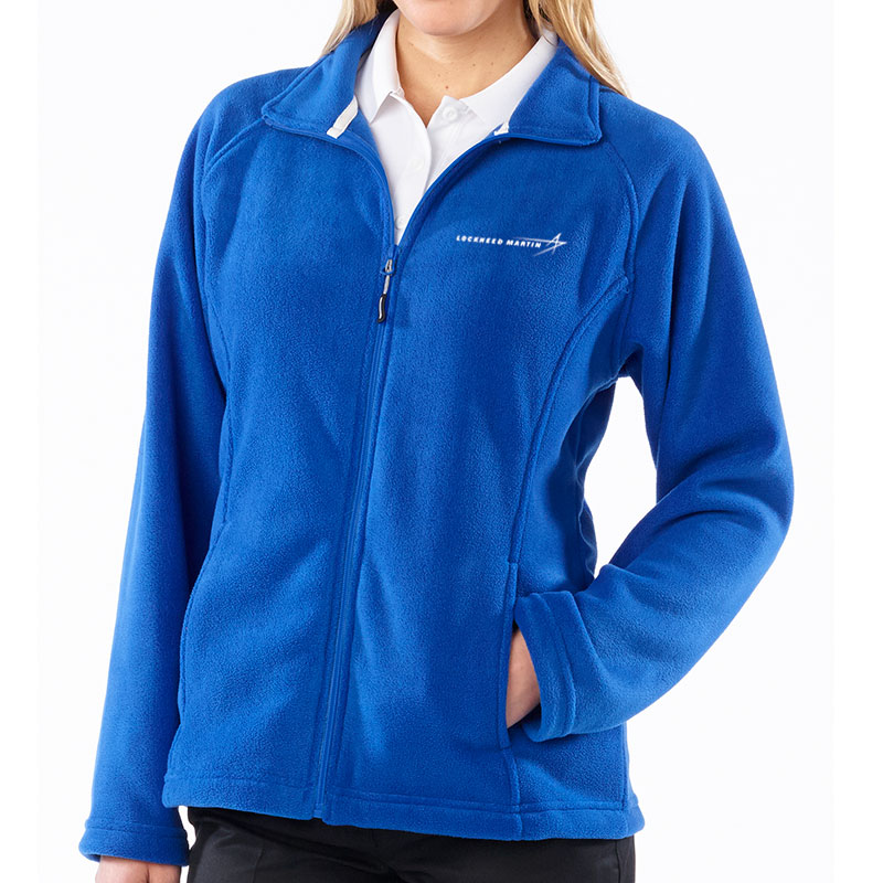 Ladies' Fleece Jacket - Royal