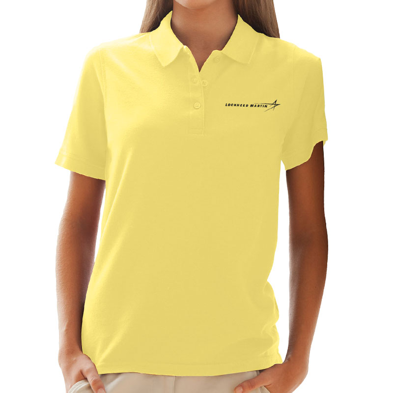 Ladies' Soft-Blend Pique Polo - Yellow