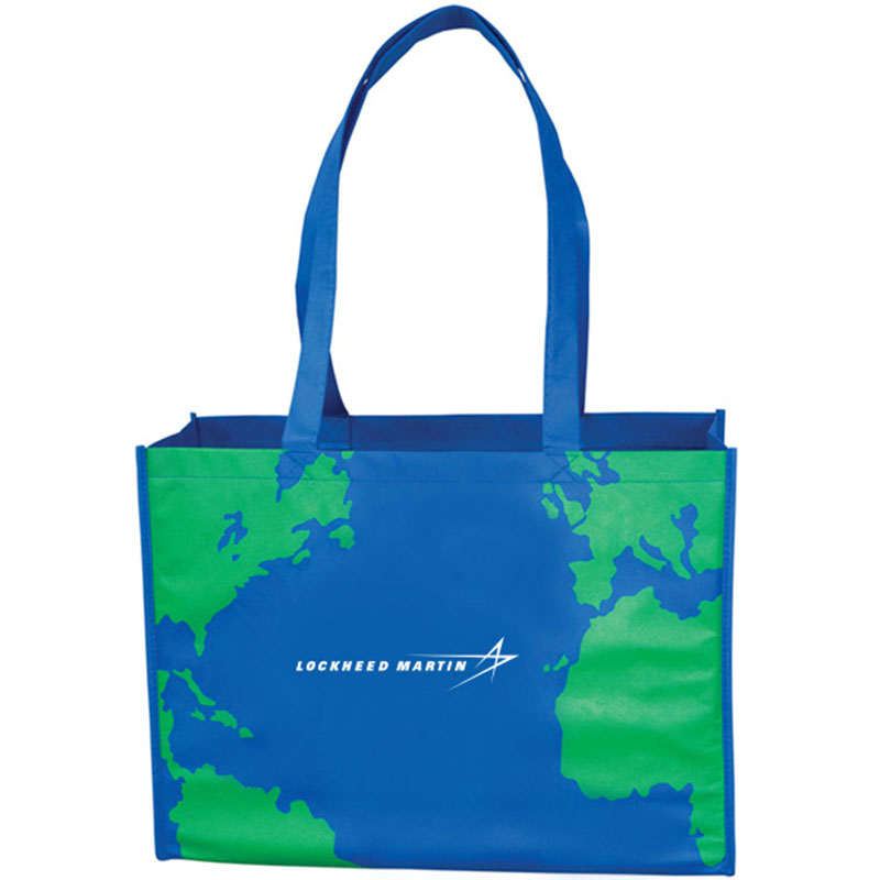 Earth Reusable Tote Bag