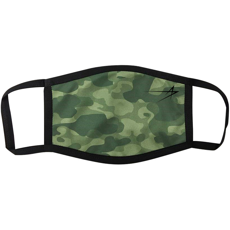 Full-Color 3-Layer Mask - Camo