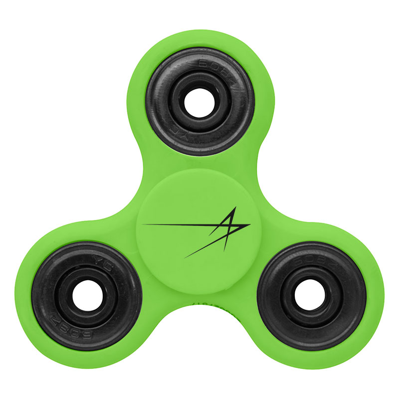 Keep Your Hands Off Your Face Spinner - Lime