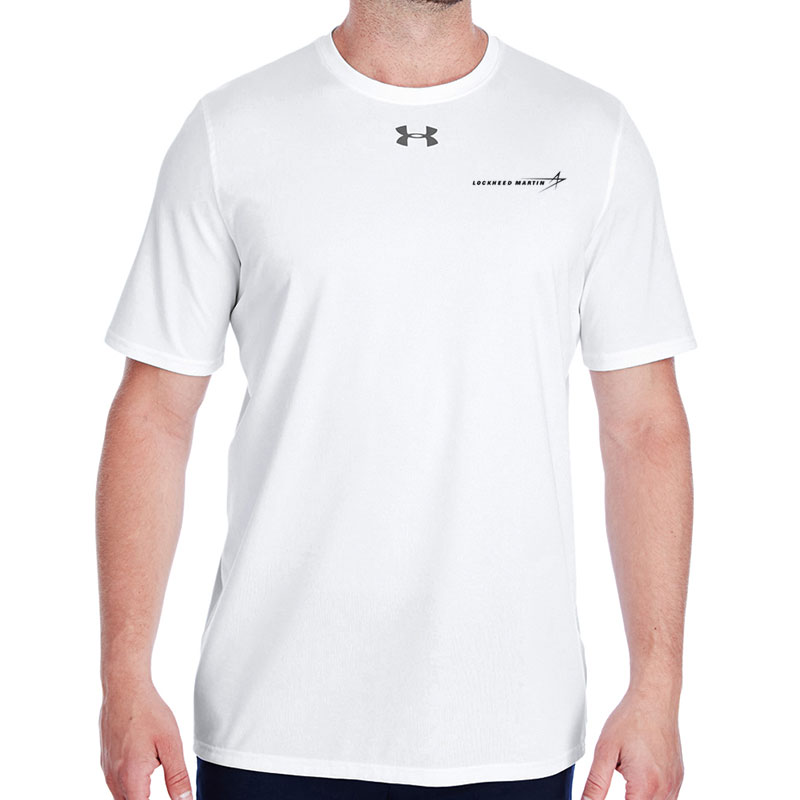 Under Armour Men's Locker Room T Shirt - White