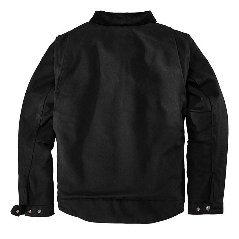 Carhartt Duck Detroit Jacket - Black Back