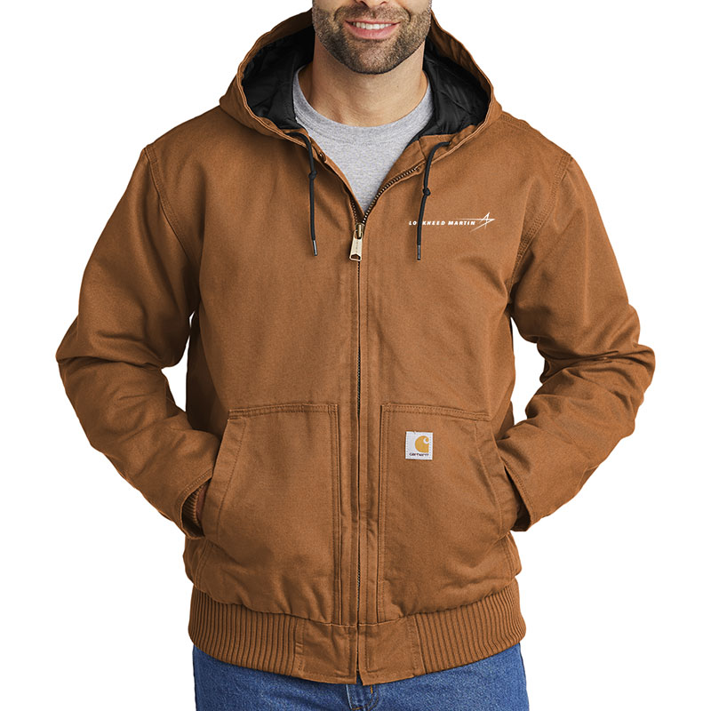 Carhartt Washed Duck Active Jacket - Brown