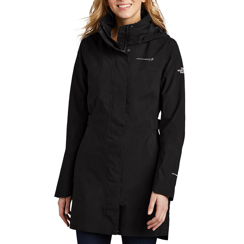 North-Face-Ladies-City-Parka-Front-Model-2