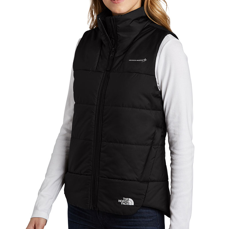 North-Face-Ladies-Everyday-Vest-Black-Front-Quarter-Model