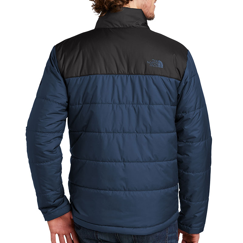 North-Face-Men's-Everyday-Insulated-Jacket-Blue-Back-Model