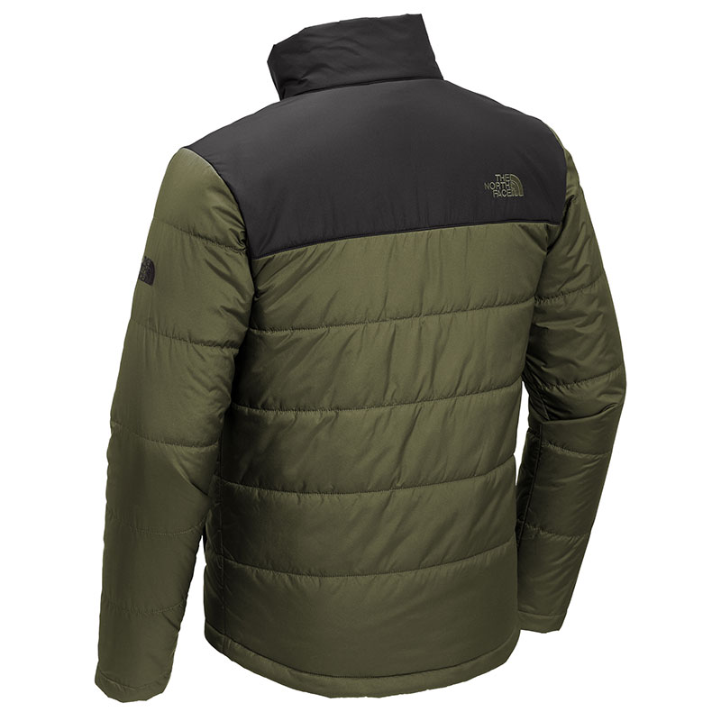 North-Face-Men's-Everyday-Insulated-Jacket-Olive-Back